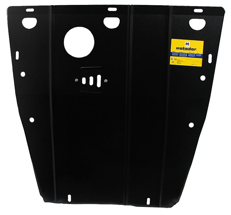 Защита картера двигателя, КПП Ford Mondeo III 2000-2007 V=2.0TD (сталь 2 мм), MOTODOR00744