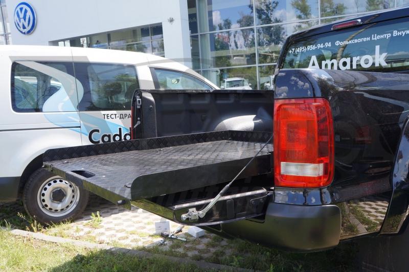 Платформа грузовая выкатная Volkswagen Amarok (2015), двойная кабина, CSVWAMR04