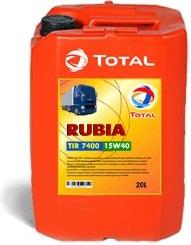 Моторное масло TOTAL RUBIA TIR 7400, 15W-40, 20л, RO190722