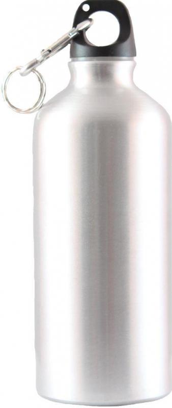 Бутылка питьевая Следопыт, алюм. с карабином, 600 мл, PFBDA600