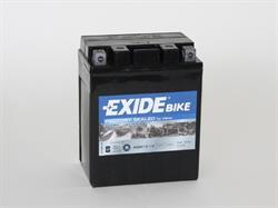 Аккумулятор для мототехники EXIDE BIKE 12V 12AH 210A 164x89x134mm