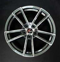 Колесный диск 4go 5019 8x18/5x114,3 D54.1 ET45 тёмно-серый с алм.обр.лиц.поверх (GMMF)