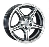 Колесный диск LS Wheels 319 6.5x15/4x100 D73.1 ET40 темно-серый полированный (GMF)