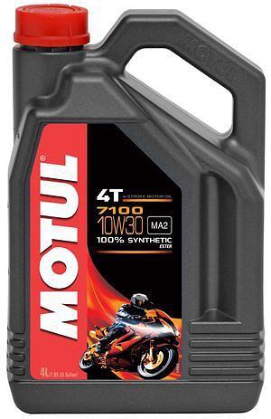 Моторное масло MOTUL 7100 4T, 10W-30, 4 л, 104090