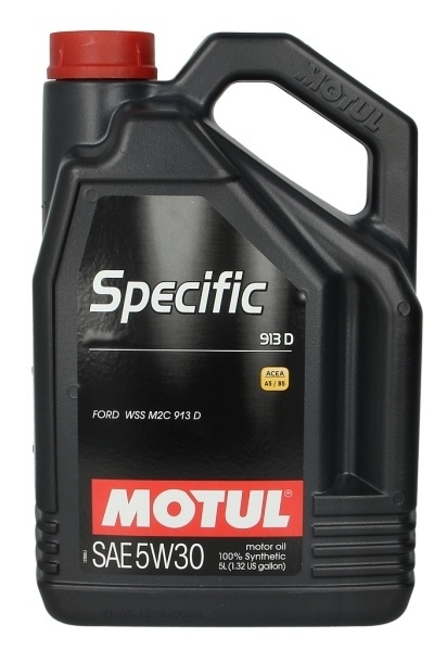 Моторное масло MOTUL SPECIFIC FORD 913 D, 5W-30, 5 л, 104560