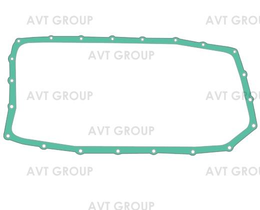 Прокладка поддона 6HP26/X/SW/XSW, 6HP28, 6HP32 для BMW E53 X5, 1068303017