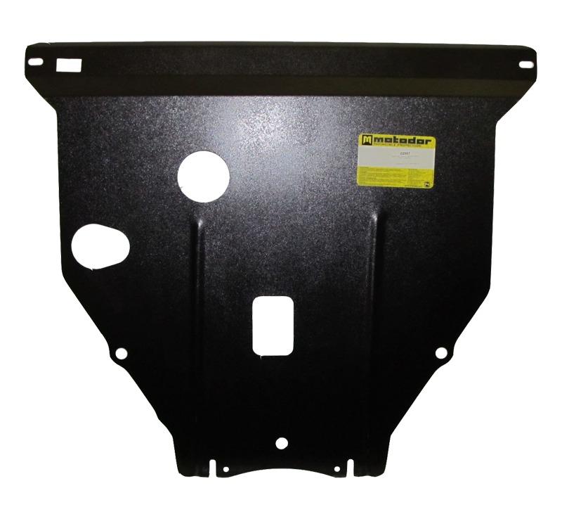 Защита картера двигателя, КПП Toyota Prius (NHW20) 2004-2009 V=1,5Hib (сталь 2 мм), MOTODOR02557