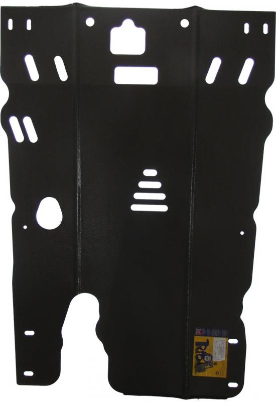 Защита картера двигателя, КПП Honda Legend IV (KB1) 2004-2008 V=3,5 (сталь 2 мм), MOTODOR00817