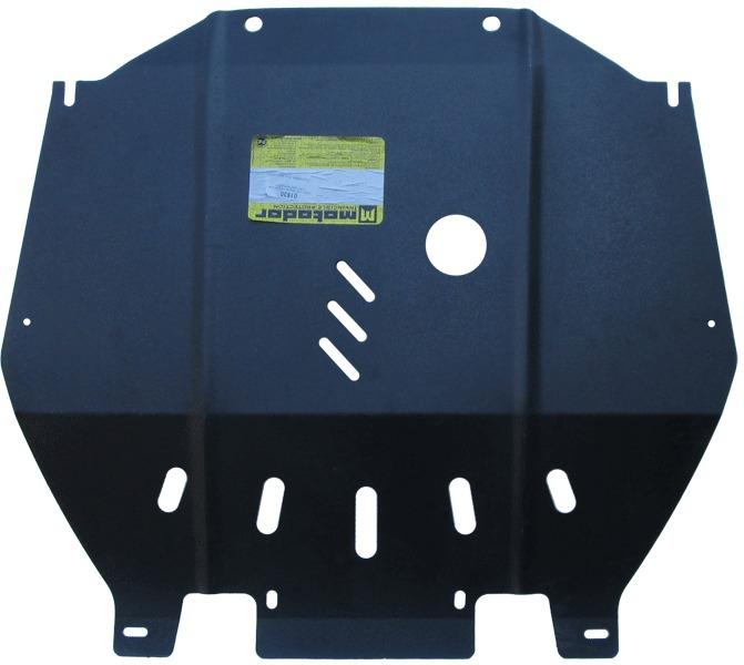 Защита картера двигателя, КПП Opel Mokka 2012- V=1,8 (сталь 2 мм), MOTODOR01530
