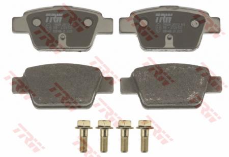 Колодки дисковые Задние, TRW, GDB1485
