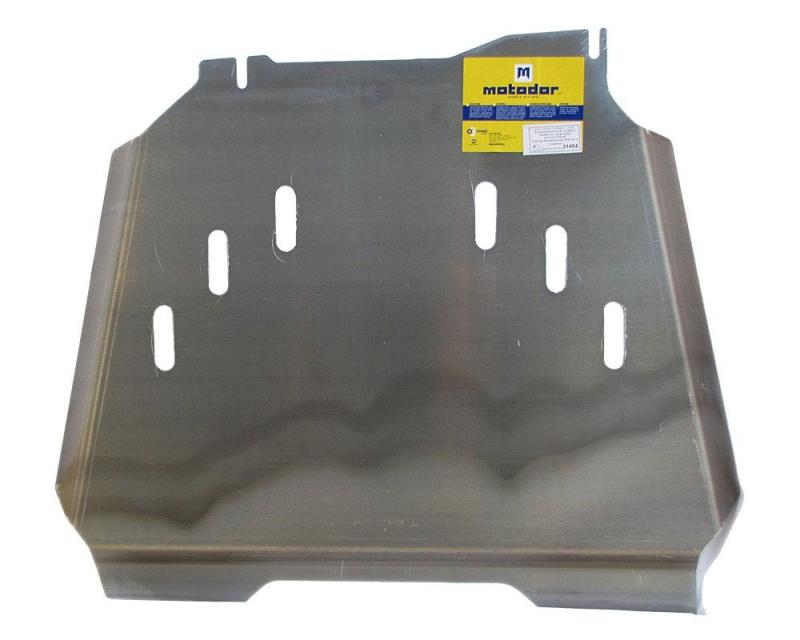 Защита картера двигателя, КПП, РК Nissan Navara III (D40) 2005- Nissan Pathfinder III 2004-2014 V= в