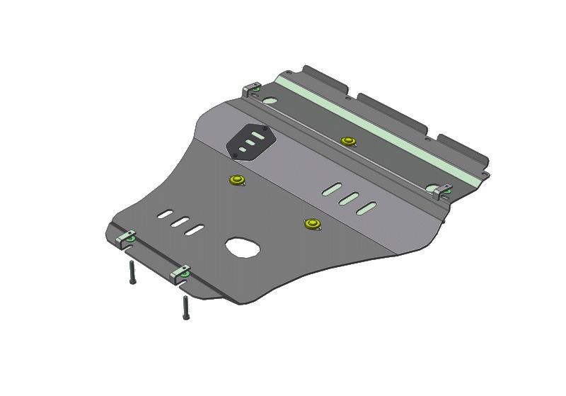 Защита картера двигателя Lexus GS III 2004-2012 V=3,0 (алюминий 5 мм), MOTODOR35009