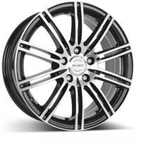 Колесный диск Enzo 103 dark 7x17/5x114,3 D71.6 ET40 черный полированный (BKF/P)