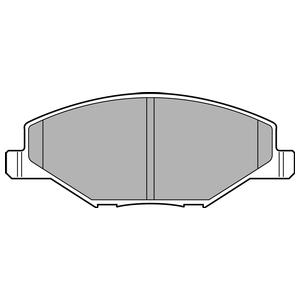 Колодки дисковые, DELPHI, LP2444