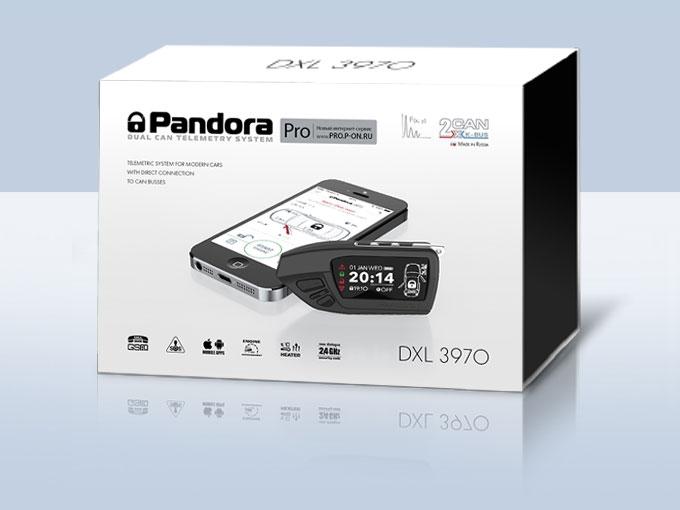 Автосигнализация PANDORA DXL3970PRO