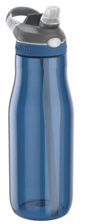 Бутылка для воды с автозакрывающимся клапаном для питья Ashland, синий, 1200 мл, 10000459