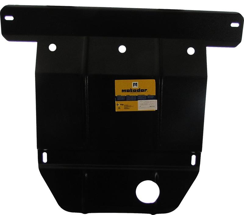 Защита картера двигателя, КПП Ford Scorpio I (GAE,GGE) 1985-1994/Sierra 1987-1993 V= все (сталь 2 мм