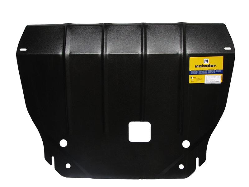 Защита картера двигателя, КПП Hyundai IX35 2010- Kia Sportage III 2010- V= 2.0 CRDi, 2,4 (сталь 2 мм