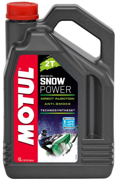 Масло моторное MOTUL Snowpower 2T, 4л, 106600
