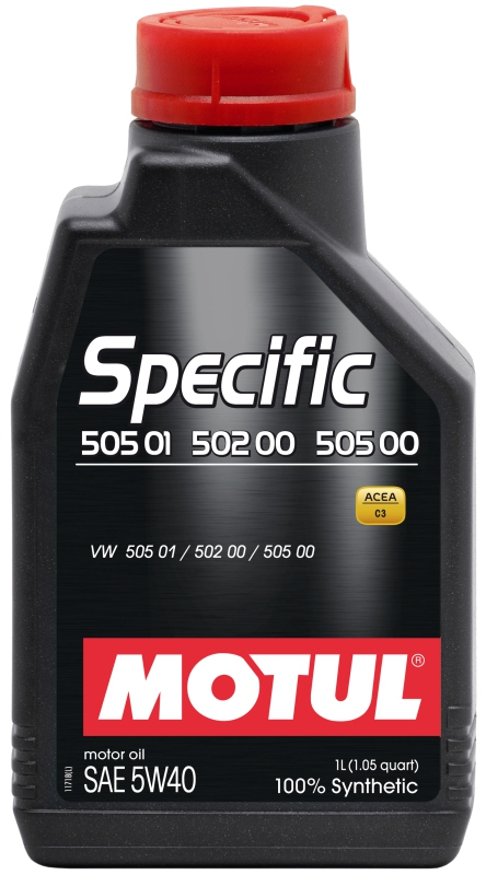 Моторное масло MOTUL Specific VW502.00-505.00-505.01, 5W-40, 1 л, 101573