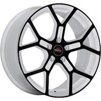 Колесный диск Yokatta MODEL-19 7x17/5x112 D66.6 ET43 белый +черный (W+B)