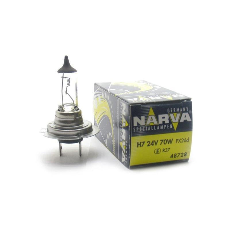 Лампа 24 В, 70 Вт, H7, PX26d, NARVA, 48728