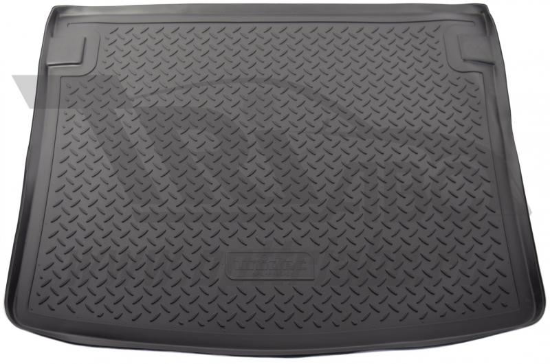 Коврик багажника для Volkswagen Caddy (2004-2015 /2015-) (прав.сдвижная дверь, подъемная.зад.дверь),