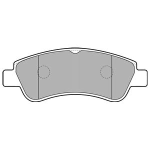 Колодки дисковые, DELPHI, LP1727