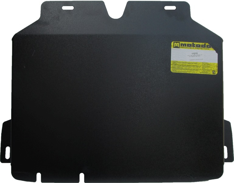 Защита картера КПП Mitsubishi Pajero Sport I 1998-2008 V=3,0 (сталь 3 мм), MOTODOR11310