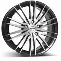 Колесный диск Enzo 106 dark 6.5x15/4x100 D65.1 ET40 черный полированный (BKF/P)