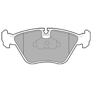 Колодки дисковые, DELPHI, LP602