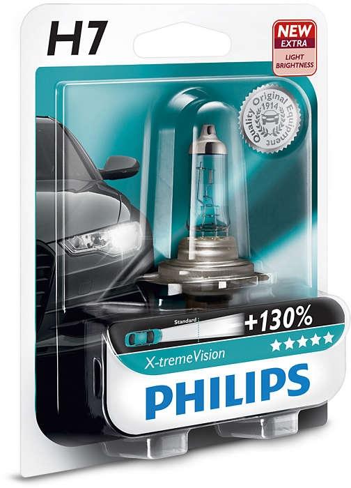 Лампа, 12 В, H7, PHILIPS, 35040130
