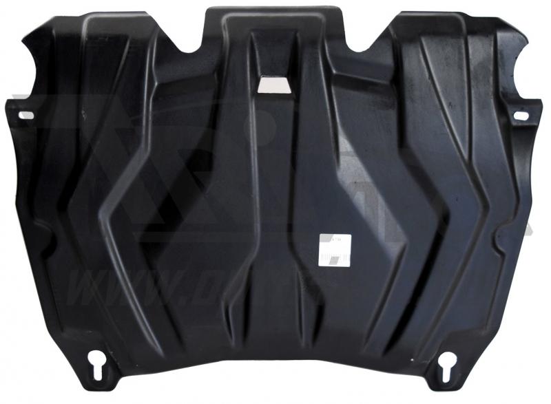 Защита картера двигателя и кпп Toyota Highlander (Тойота Хайлендер)(07-13,V-все; 2014-,V-2,7;3,5;АКП