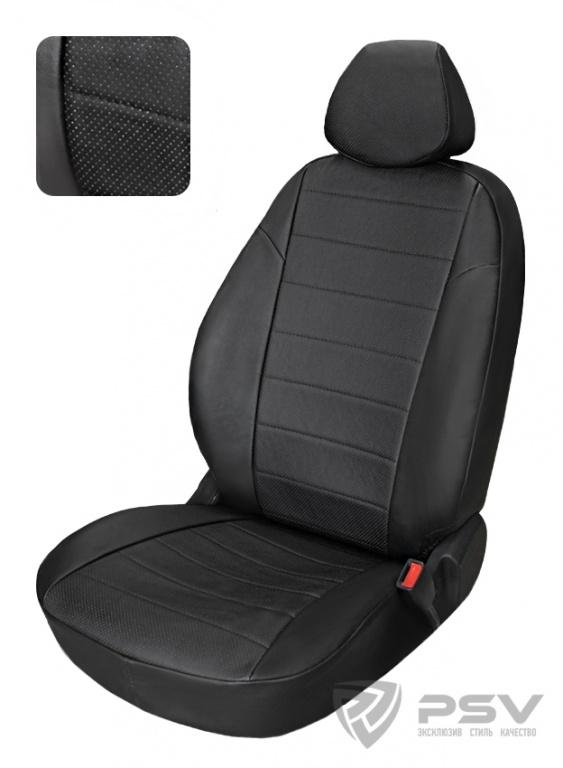 """Чехлы Audi A4 B-7 Sd 2004-2009 спл. черный аригон, """"Автопилот"""", 118621"""