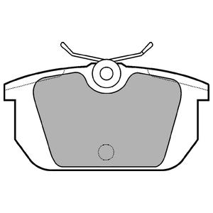 Колодки дисковые, DELPHI, LP522