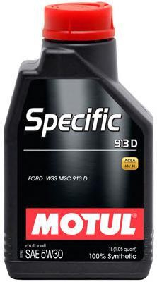 Моторное масло MOTUL SPECIFIC FORD 913 D, 5W-30, 1 л, 104559