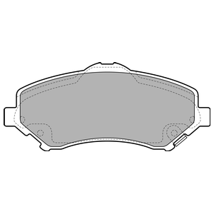 Колодки дисковые, DELPHI, LP2143