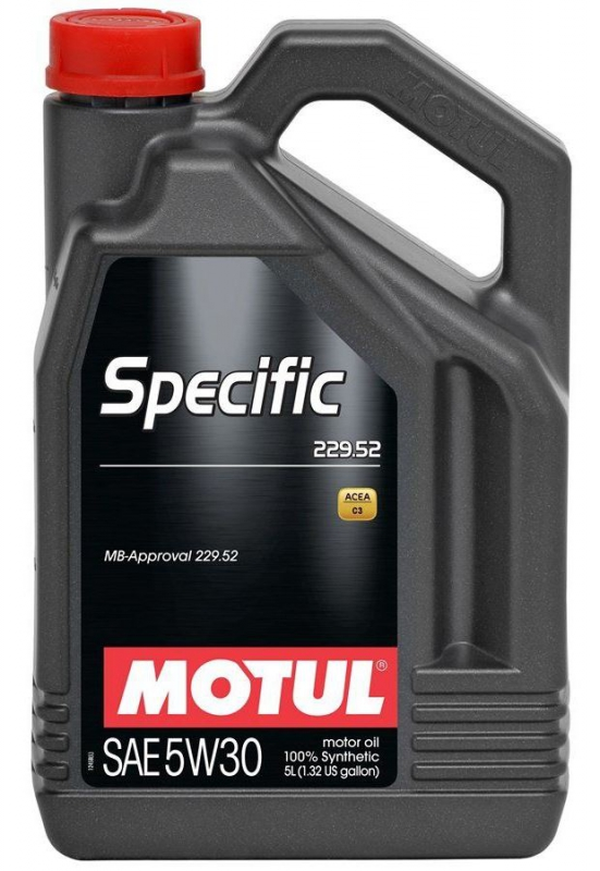 Моторное масло MOTUL Specific MB 229.52, 5W-30, 5л, 104845