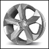 Колесный диск Fr replica 579 9.5x19/5x120 D72.6 ET35 серебро (S)