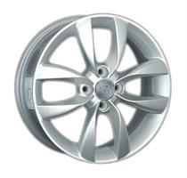 Колесный диск Ls Replica Ki108 6x16/4x100 D57.1 ET52 серебристый (S)