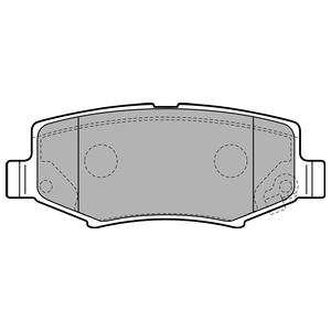 Колодки дисковые, DELPHI, LP2172