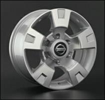 Колесный диск Ls Replica NS5 8x17/6x139,7 D106.1 ET10 серый глянец, полированнные спицы и обод (GMF)