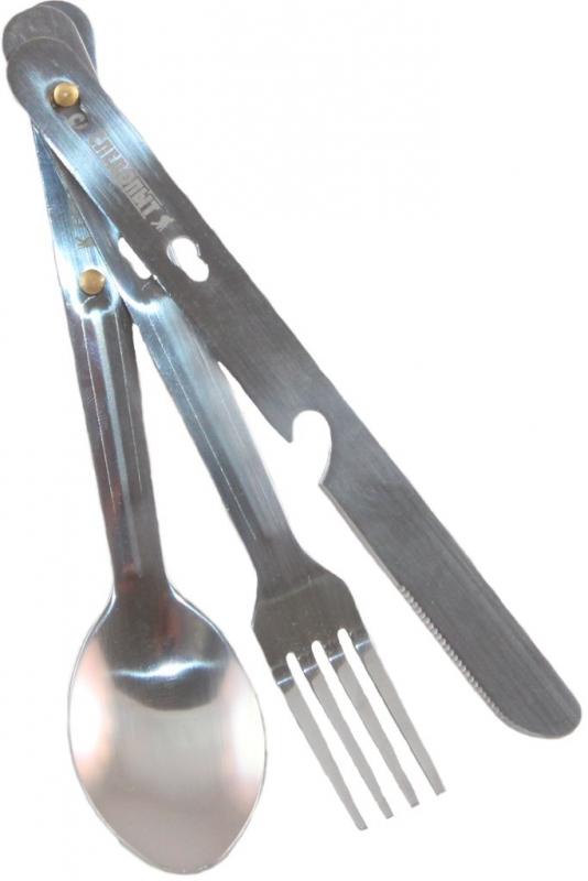 Набор столовых приборов Следопыт, нерж. (ложка, вилка, нож), PFCWSP31