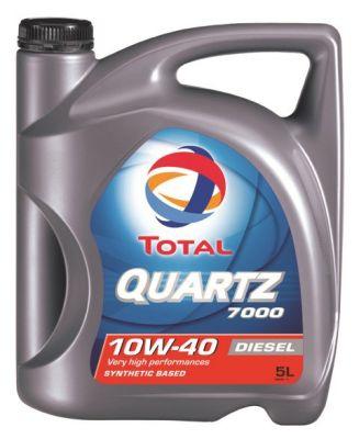 Моторное масло TOTAL QUARTZ 7000 Diesel, 10W-40, 5л, RO173577