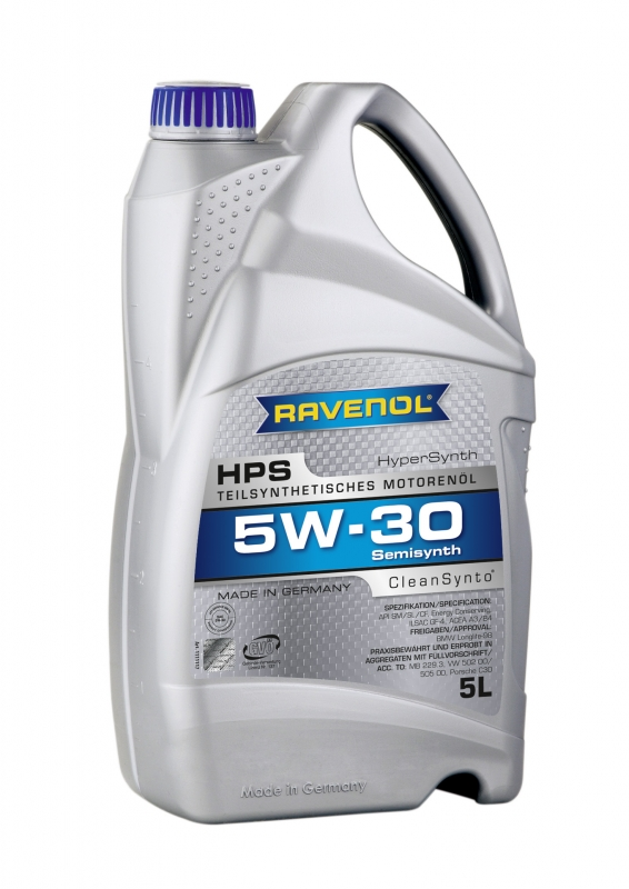 Моторное масло RAVENOL HPS, 5W-30, 5л, 4014835722859