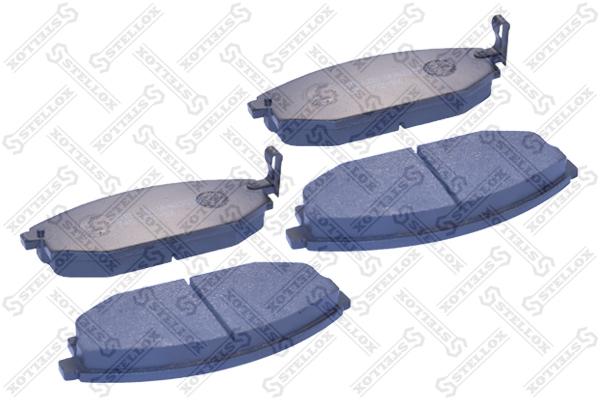 Колодки дисковые, STELLOX, 745002SX