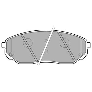Колодки дисковые, DELPHI, LP1849