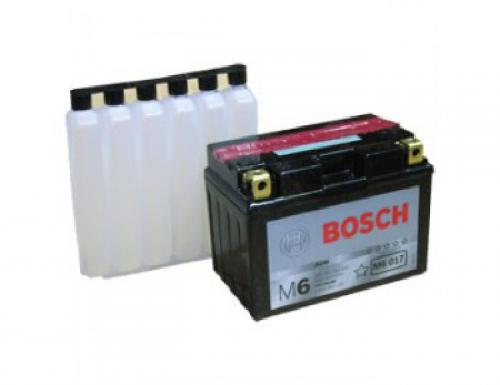 Аккумуляторная батарея Bosch Funstart AGM, 12 В, 11 А/ч, 230 А, 0092M60170