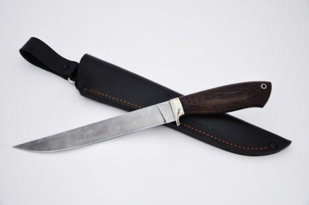 Нож Филейный большой (дамаск, венге), KNIFE YARD, 00344