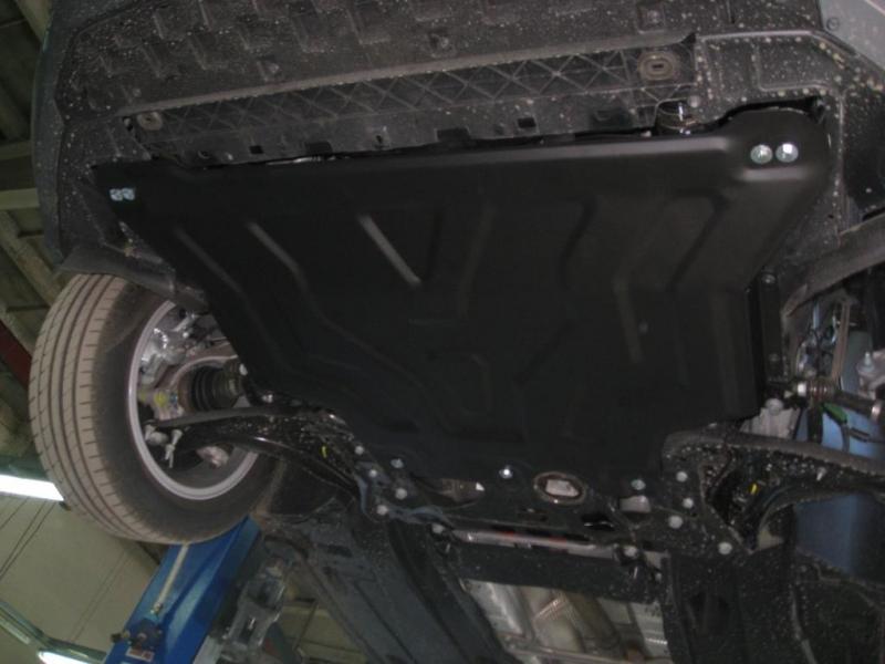 Защита картера двигателя и кпп Skoda Octavia (Шкода Октавия) (2013-) /Golf (Гольф) VII (2013-) V-1,4